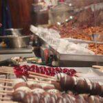 Christmas Market roasted nuts