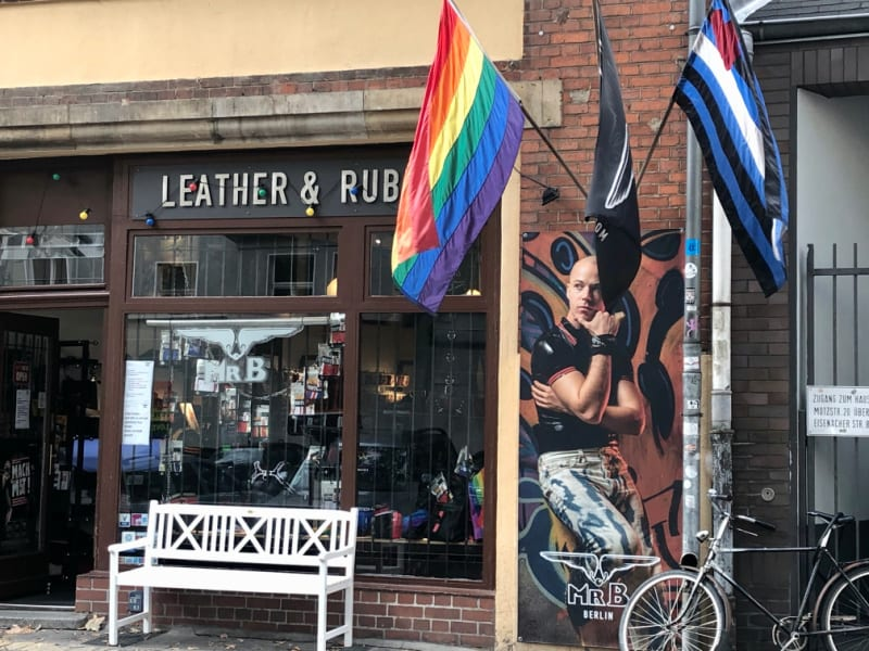 Queer leather stores in Berlin